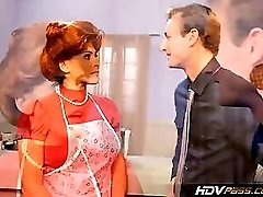 HDVPass Sexy Redhead Housewife Raylene Gives a nice Blowjob