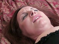 Mature Woman Pounds Her Pussy