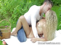 Moms Passions Romantic youporn fuck on redtube picnic tube8 blanket teen porn