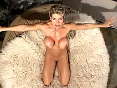 Busty Milf With 15 Pussy Piercings