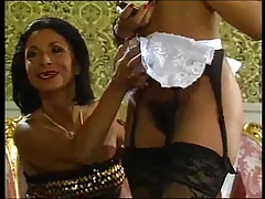 Mature Lady And Her Black Maid Doing A Guy Vintage