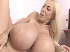 Blonde Bimbo MILF Elizabeth Starr Fucking