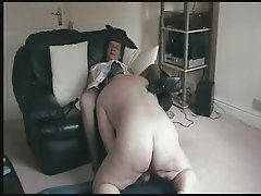 Granny Masturbates Remembering Her Licking