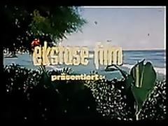 Vintage 70s german Palmen Meer und nasse Grotten feature cc79