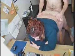 Fat redhead fucked