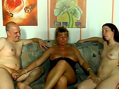 Mature threesome