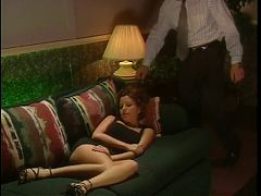 Blindfolded Milf Gets Stuffed With Dildo And Dick
