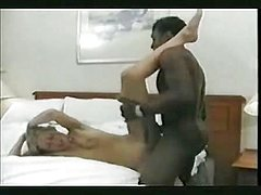Blonde wife opens her legs for BBC