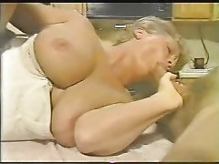 Fat old granny being fucked