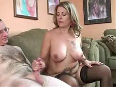 Mature Couple Make A Handjob Video
