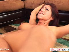 Sexy milf Tara Holiday riding cock