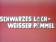 Vintage 70s german Schwarzes Loch weisser Pimmel cc79