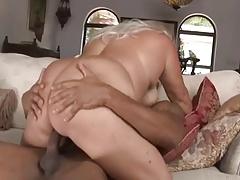 IR fucking of a BBW MILF with huge boobs