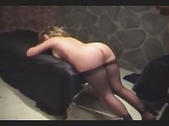 Plump Ass Spanking