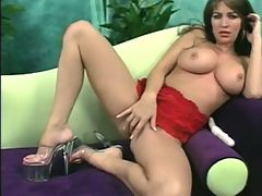 Taylor St Claire masturbation and toys