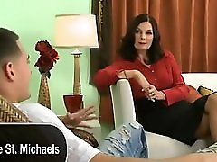50 years old mom fucks a younger boy