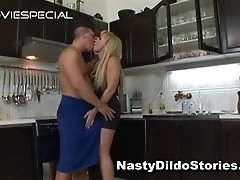 Mature milf gets asshole fucked with dildo 1 by nastydi
