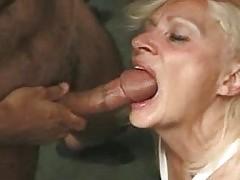 French Jacqueline 61 and a smashing fuckmachine