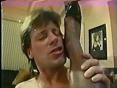 Vintage Ir Ebony Loves White Cock