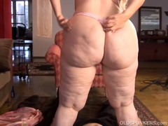 Super sexy mature blonde BBW is a very hot fuck