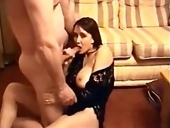 Amateur Brunette Wife Gets Fucked