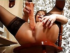 Holly Dildo In Both Holes Dirty Whore!