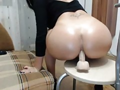 Milf asshole masturbation
