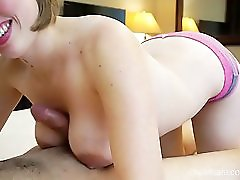 Sexy Wife Licks And Sucks Cock After Work