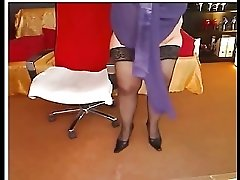 Blond Romenian Stripping And Playing In Front Of Cam