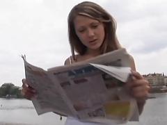 Priscilla Russian Blonde schwanzmiete