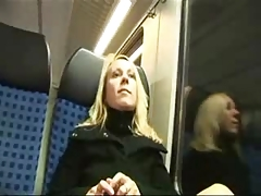 German amateur train fucking