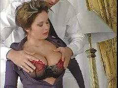 Busty mature loves cock RM