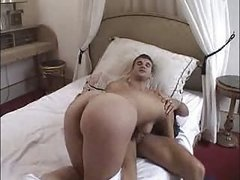 French Amateur Brunette gets her first