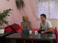 Raunchy Rural Granny Creamed Melita Drahomirova