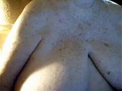 Giant Boobs Granny on Cam