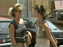 Erica Boyer Sharon Mitchell & Blondi Classic Lesbos