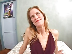 Horny Blonde Milf Fucked Hard 2 Guys