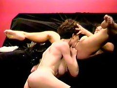 Orgasm On A Sofa