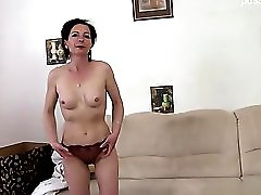 Cute housewife hard sex