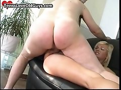 Horny Old Man Fucking And Licking This Cute Teen Girl H