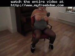 Tits tied 2 bdsm bondage slave femdom domination