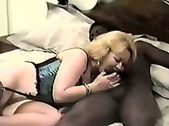 Mature Woman Gets A Big Dick