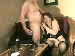Granny Dressing & Fun With Hubby By Snahbrandy
