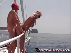 Velvet Swingers Club Boat Orgy With Couples Swapping