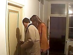 Attractive mature performs for her cuckhold husband