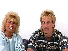 Mature couple enjoy fucking on camera