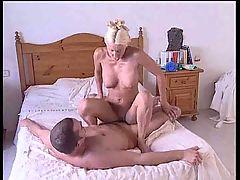 British slut Jan Burton gets fucked again