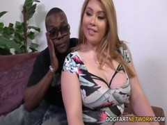 Arianny Koda Gets Her First Big Black Cock