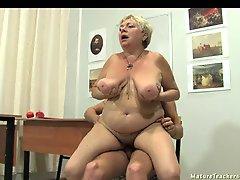 Granny's breasts