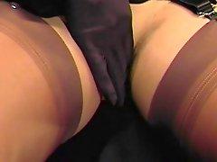 Mistress Francine Nylon Tease